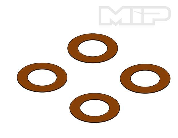 "#14383 - Losi 5ive-T .010"" Thick Brown Valve (4),  32mm Big Bore Bypass1"