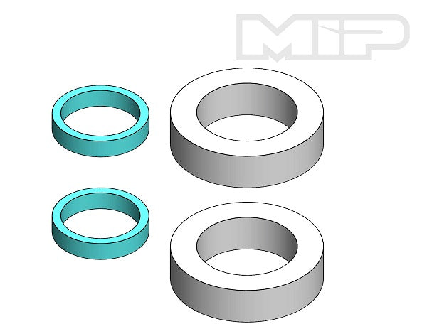 Mipple Filter Set, Quick Fill (2), #15109