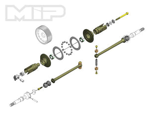 17.5 MIP Puck Drive System, 67mm, AE B6 #17130