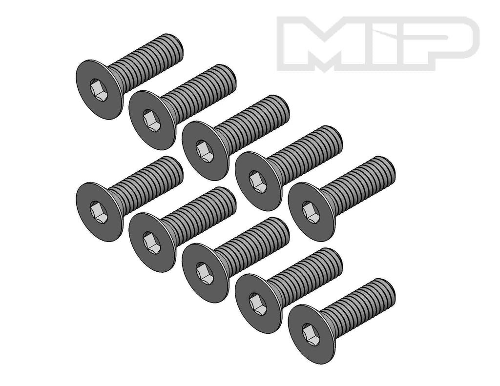 M3 x 10mm Flat Head Screw (10) #99115