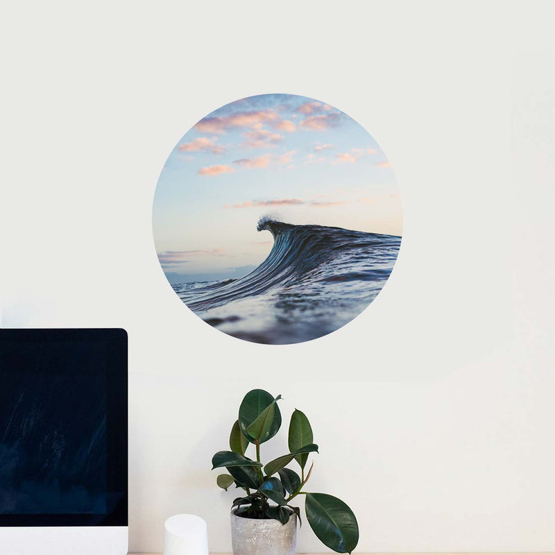 """delicasea"" — Wall Decal"
