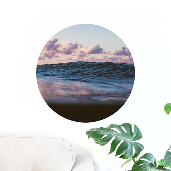 Pastel Ocean — Wall Decal
