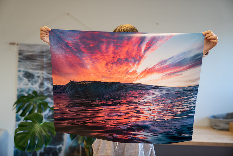 SUNRISE LOVER — XL Poster Print