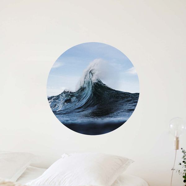 snowy mountain — Wall Decal