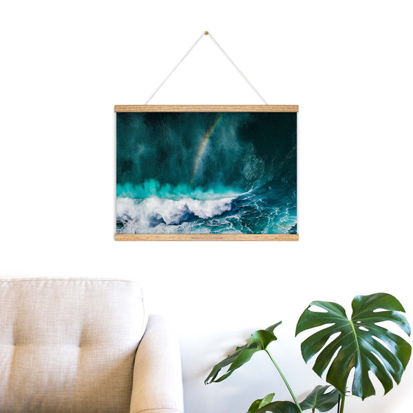 """Somewhere™"" Wooden Hanging Frame"