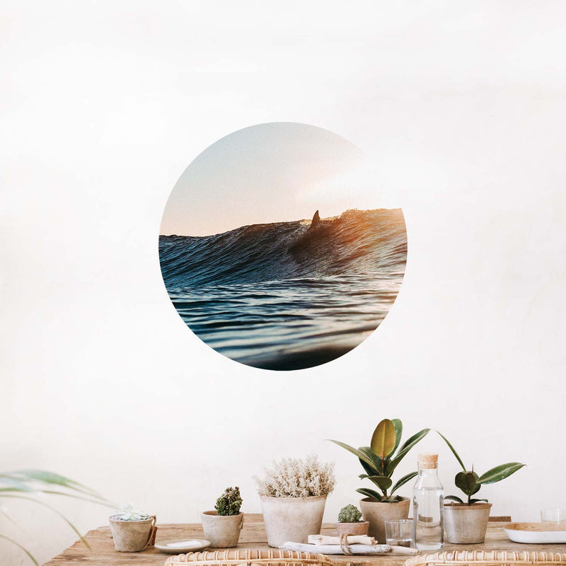 Sunday Surf — Wall Decal
