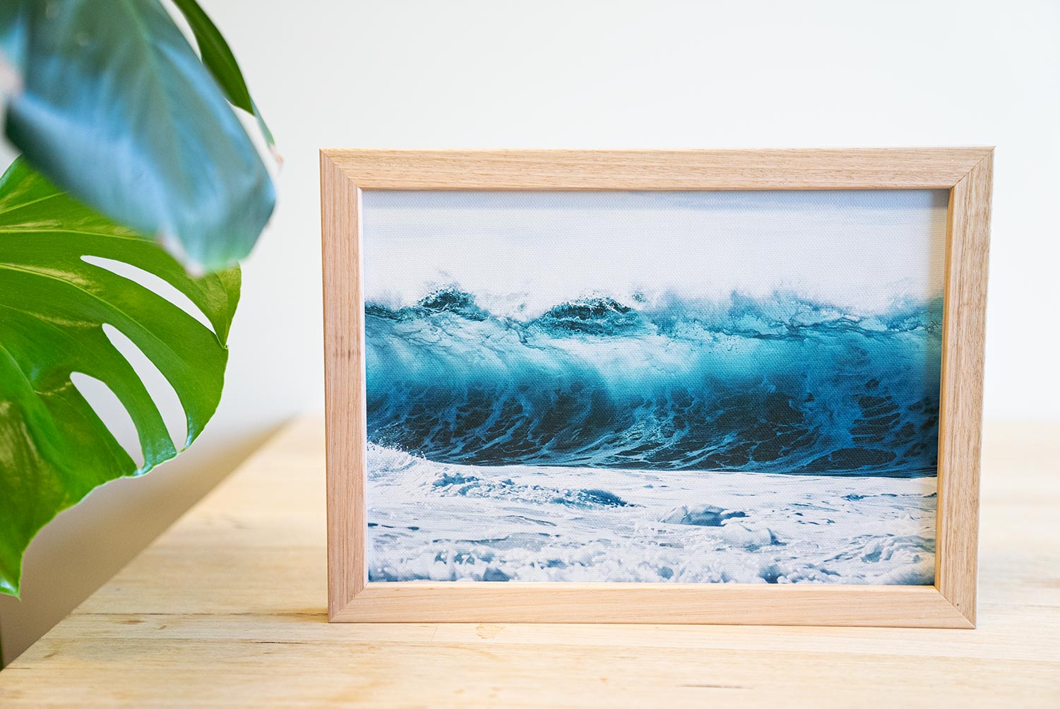 """AWASH"" Framed Print"
