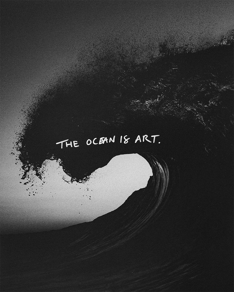 darkroom (the ocean is art—original)
