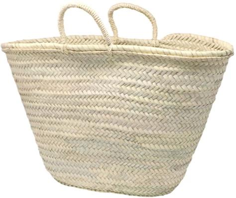 french market straw bag - LARGE - market basket