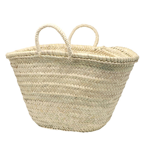 french market straw bag - MEDIUM - market basket