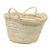 french market straw bag - MINI - market basket