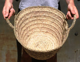 Straw bag - palm leaves (alger type)