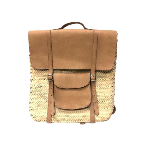 backpack straw bag