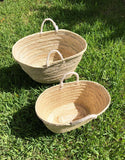 Handmade shopping basket