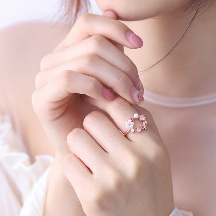 FLOWER OF HOPE RING