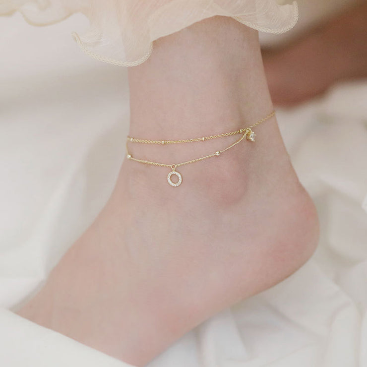 CIRCLE OF LIFE ANKLET