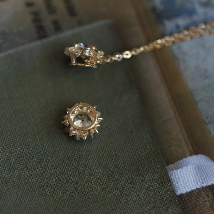 SUNSHINE NECKLACE (9K GOLD)
