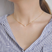 AIME PEARL CHOKER NECKLACE