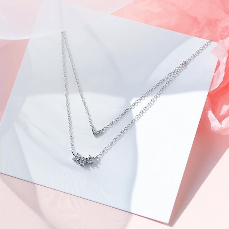 LIA'S DOUBLE LAYER NECKLACE