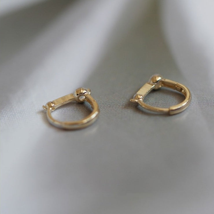 ENLIGHTENMENT EARRINGS (9K GOLD)