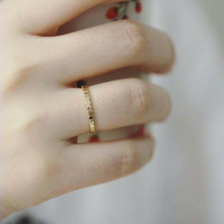 CIRCLE OF LIFE RING (9K GOLD)