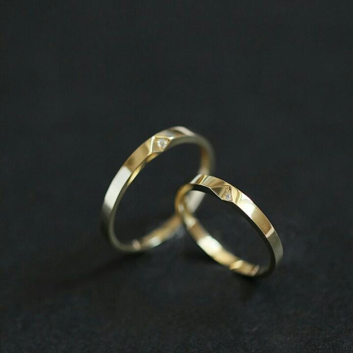 JIGSAW PUZZLE RING (9K GOLD)