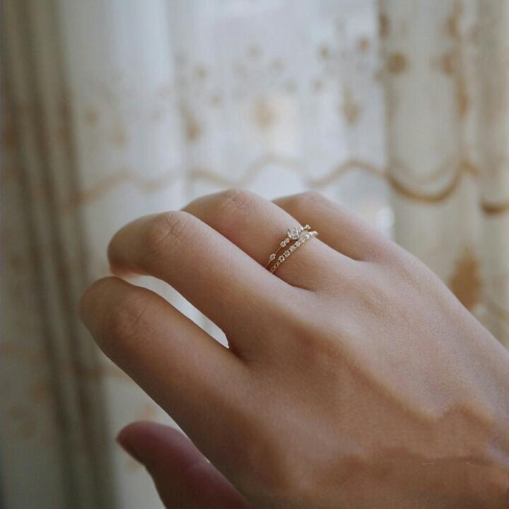 STARRY NIGHT RING (14K GOLD)