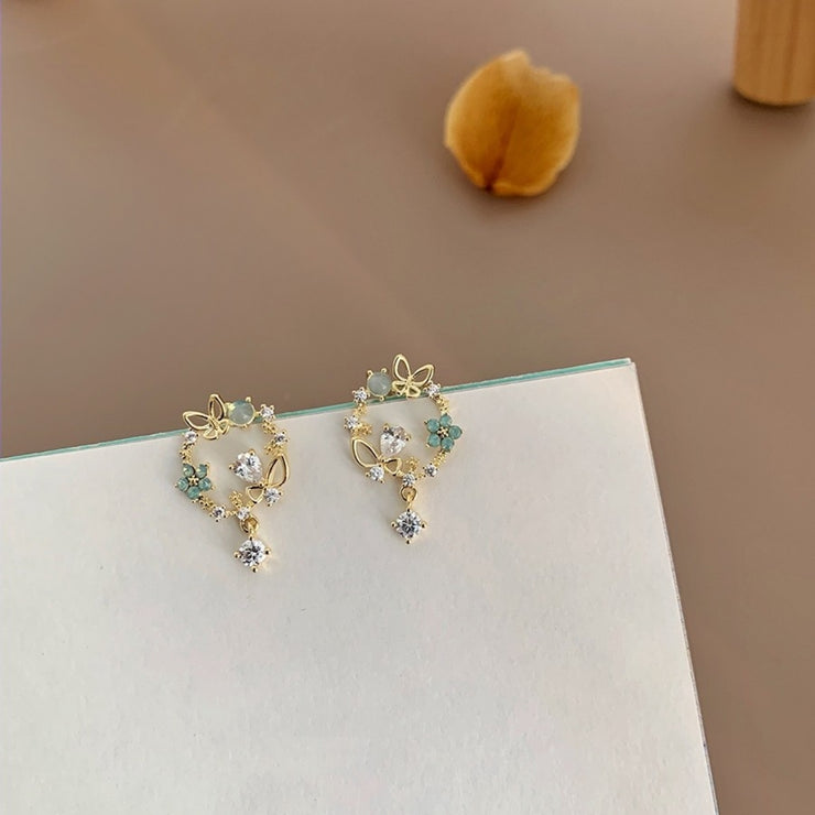 WINGS OF THE 'BUTTERFLY' EAR STUDS