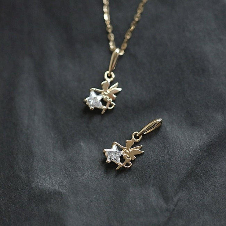 FAIRYTALE NECKLACE (9K GOLD)
