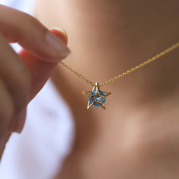 BLINKING STARS NECKLACE