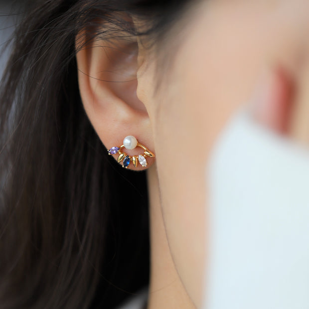 SPREAD YOUR WINGS EAR STUDS