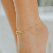 DUO LAYER SPACER ANKLET