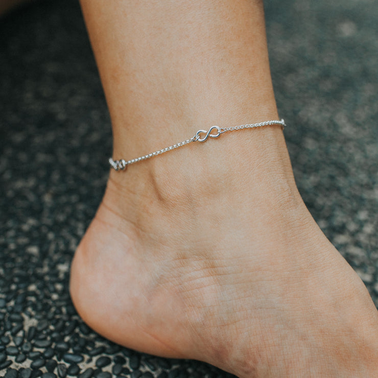 INFINITY OF HOPE ANKLET
