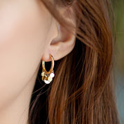 MULTI-VENDI DISC EARRINGS [14K GOLD]