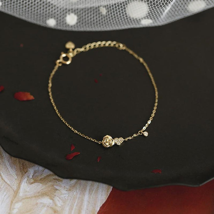 BEAUTY & THE BEAST BRACELET (14K GOLD)
