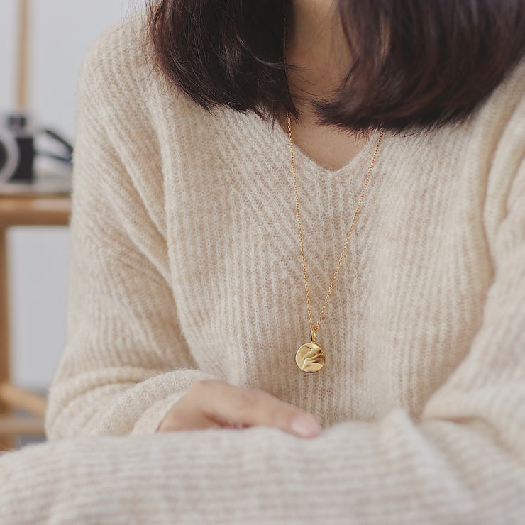 UNEVEN PATHS NECKLACE
