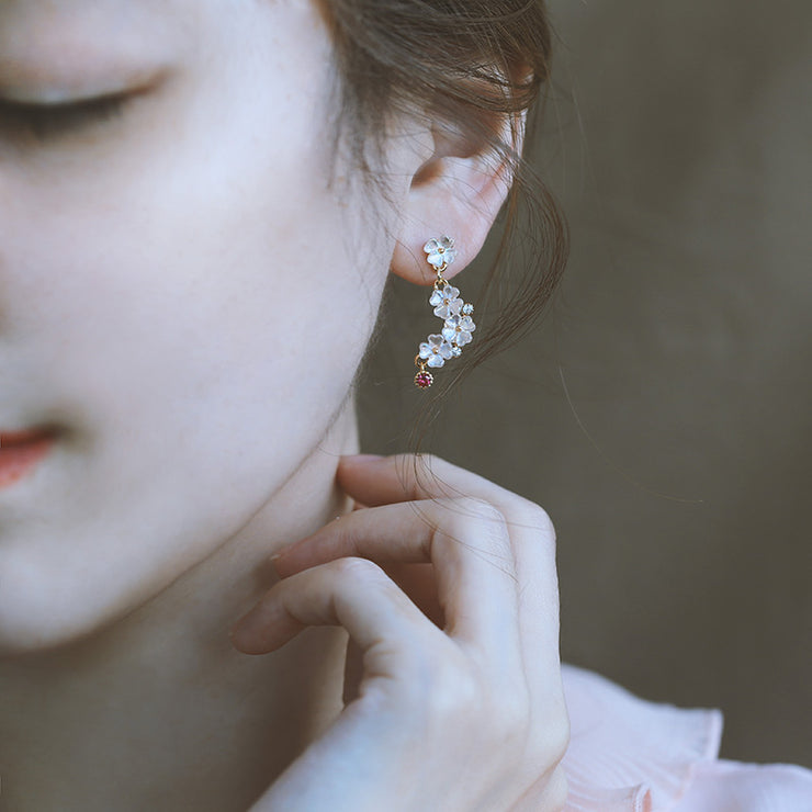 BLOOMING FLOWER EAR STUDS 2.0