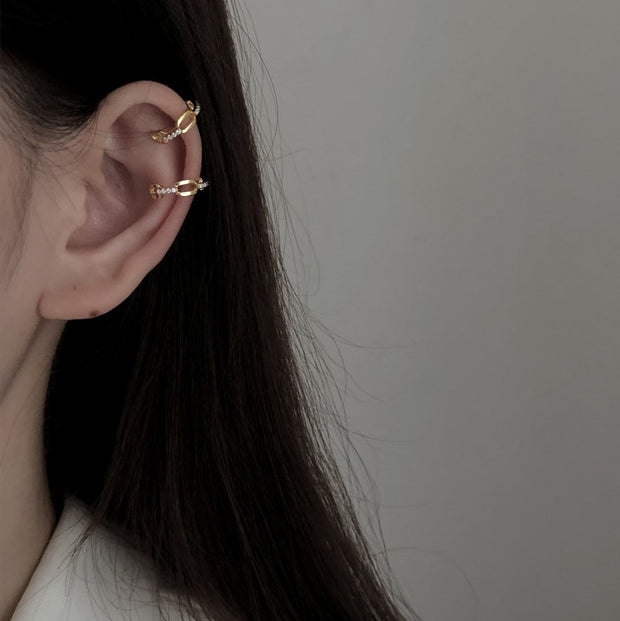 CHAINED UP EAR CUFFS