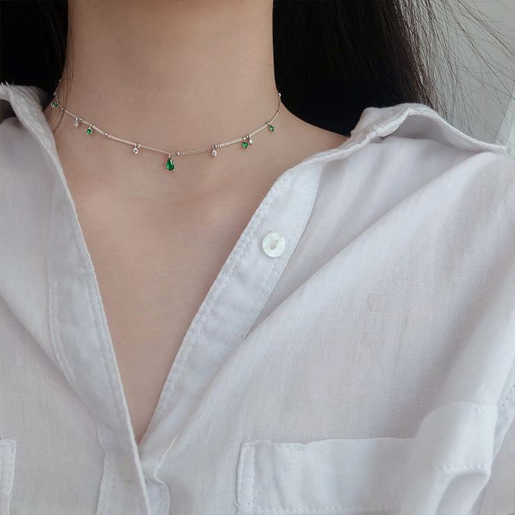 MOTHER NATURE CHOKER NECKLACE