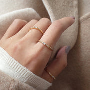 BEAUTIFUL BAGUETTE RING