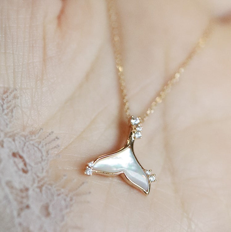 """WHALE"" NECKLACE"