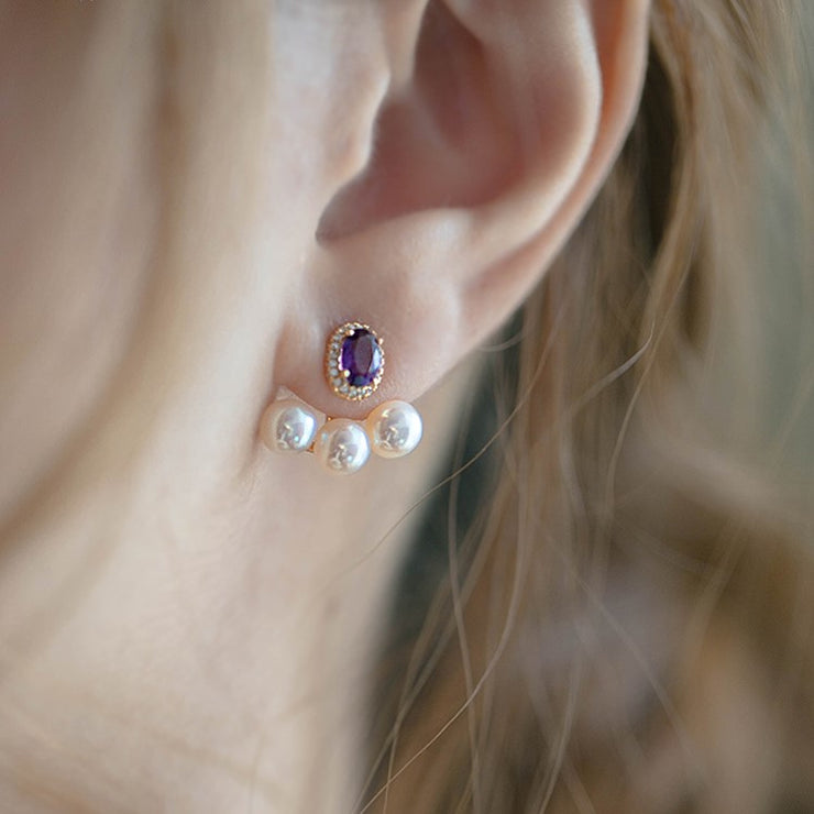 AMETHYST EAR JACKET