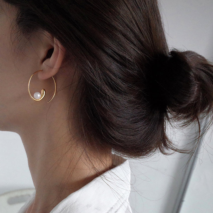 THE SNAIL EARRINGS