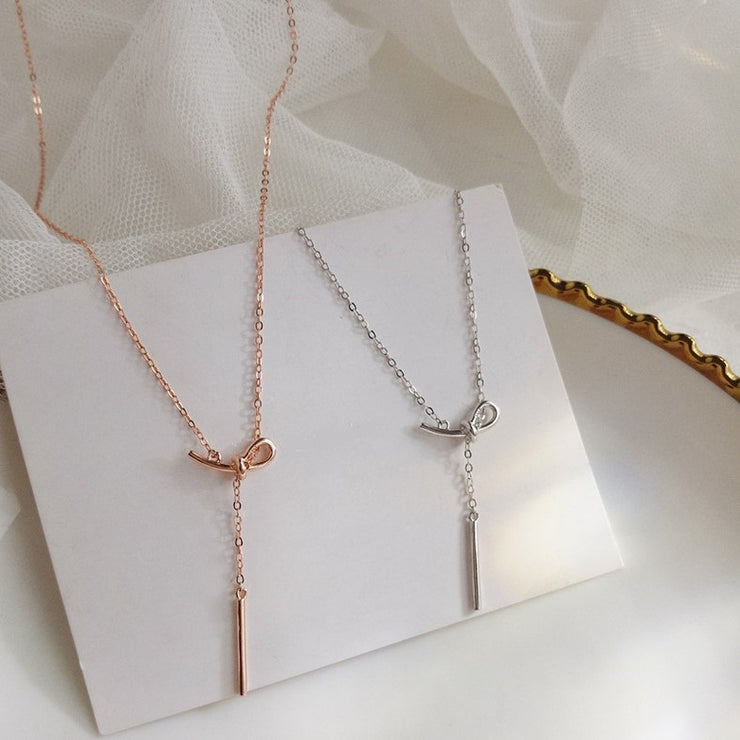 TRUE LOVER'S KNOT NECKLACE