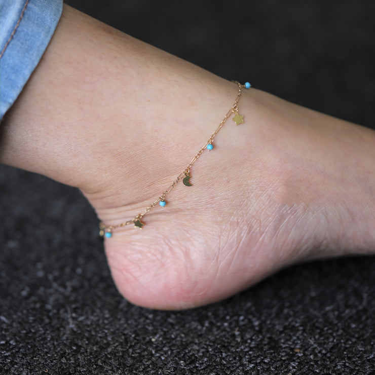 STARRY NIGHT ANKLET