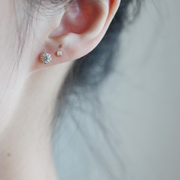 SUNSHINE EAR STUDS (9K GOLD)
