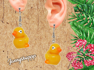 Small Ducky Earrings