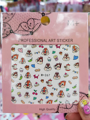 Chip n Dale Part 1 Nail Sticker
