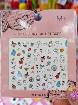 Moomin Part 2 Nail Sticker