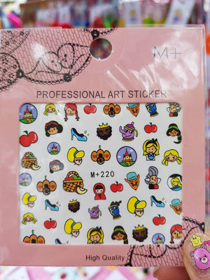 Princess Nail Sticker